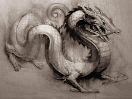 Storm Dragon by JeremyLeach