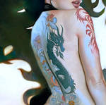 Tattoo (detail)