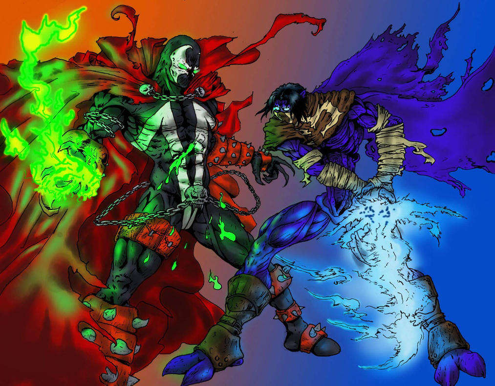 Spawn and Raziel by Morvakus
