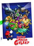 Super Mario Galaxy BOSSES