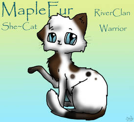 MapleFur Of RiverClan