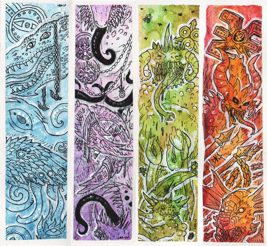 Bookmarks: Chaos Gods by Vargorm