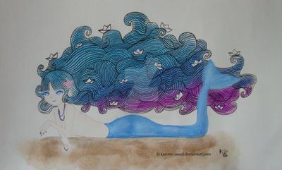 A la mar! by Kurono-Usagi