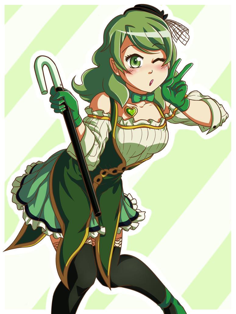 Puella Magi Hitomi by kopso866