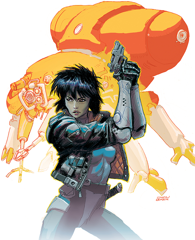 Ghost In The Shell By DustinWeaver On DeviantArt