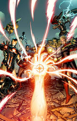 The Avengers #8 cover