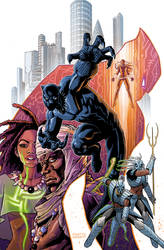 BlackPanther Variant Cover