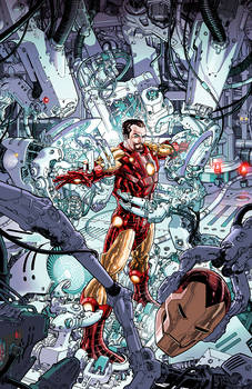 IronMan #1 Variant Cover