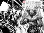 Weapon X sketch cover 2009