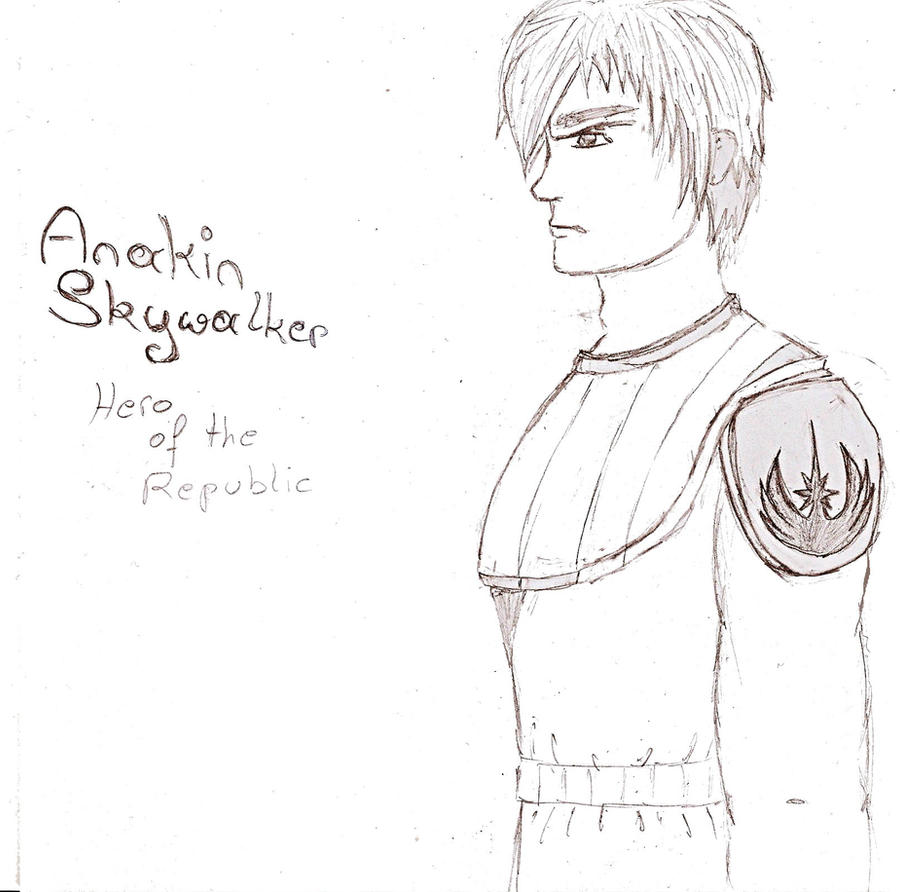 TCW: Anakin Skywalker -  Hero of the Republic by ThoyaSkywalker