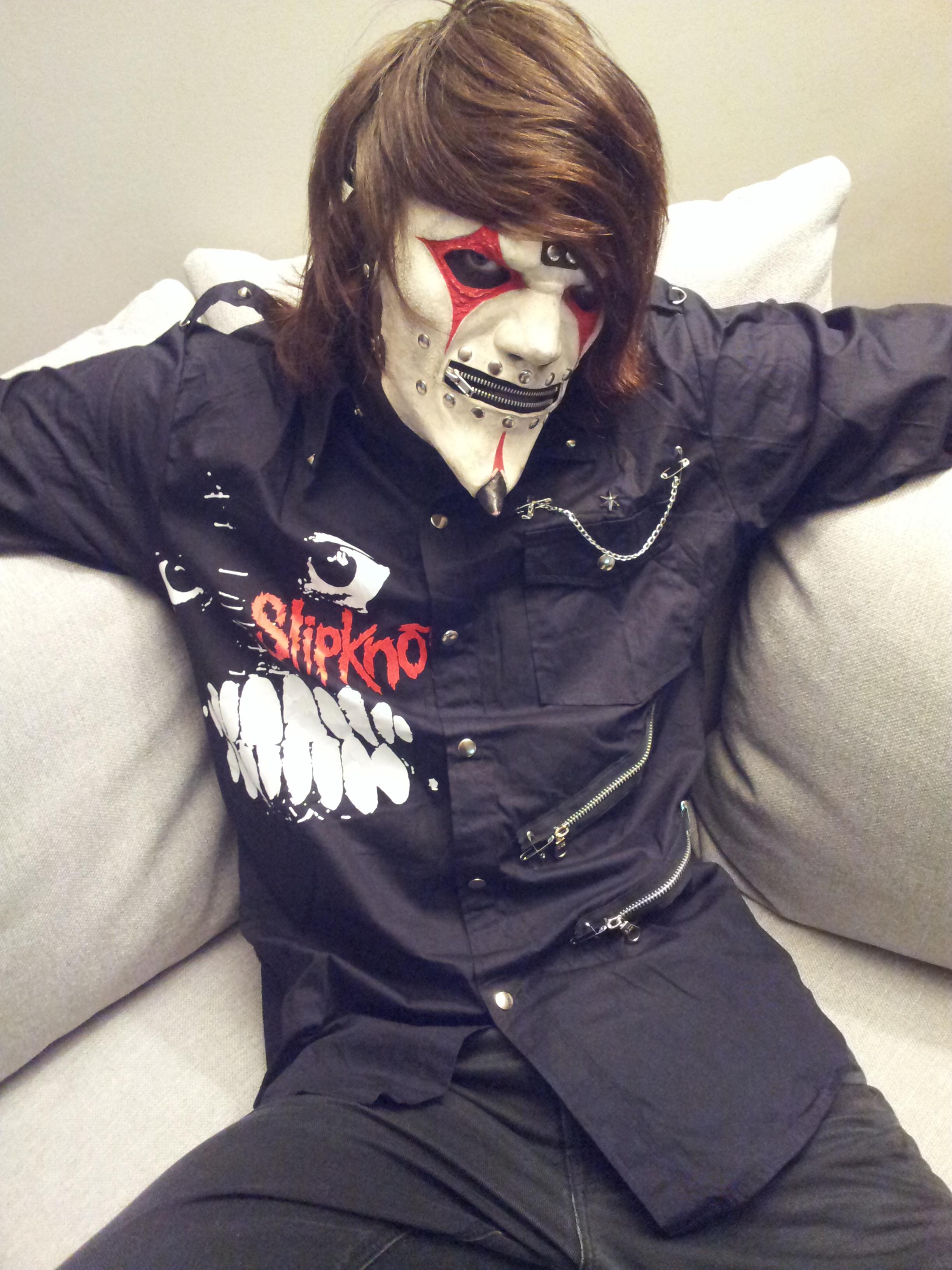 Slipknot Jim Root Cosplay by Hexalot on DeviantArt