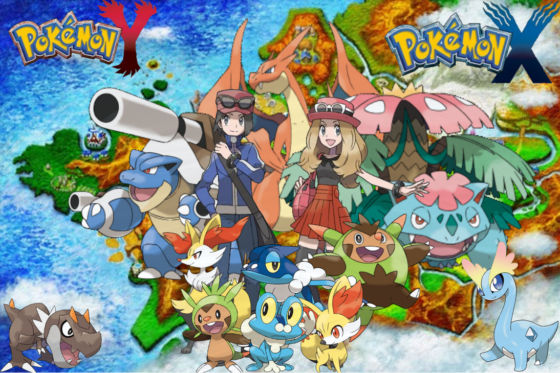 Pokemon x and y pokemon starters evolutions
