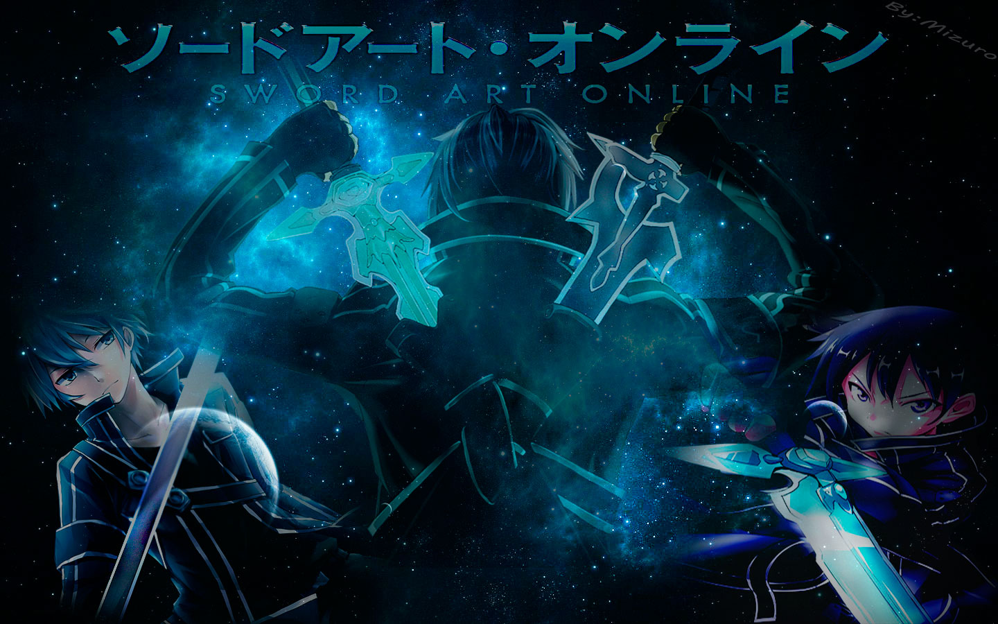 Wallpaper Sword Art Online Kirito by mizurinho on DeviantArt