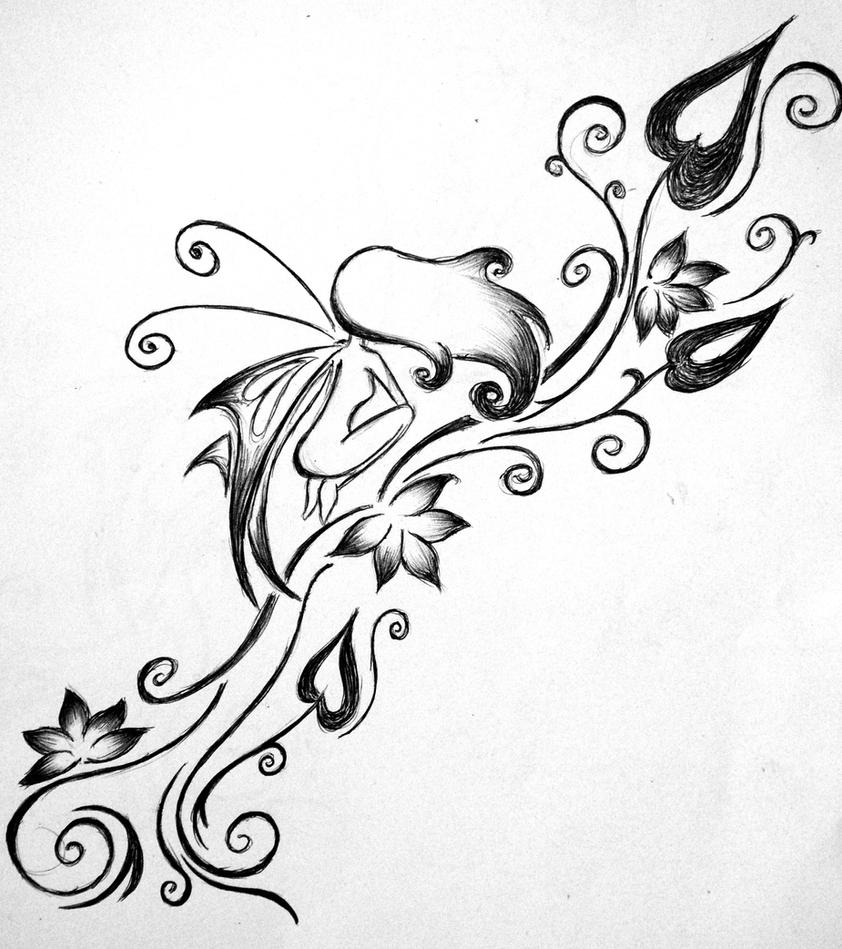 Fairy Tattoo By Saarsel On DeviantArt
