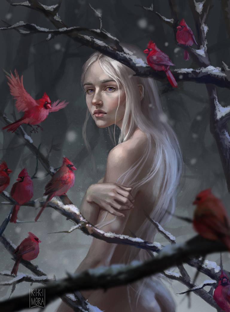 Winter rose 2 by Malabra