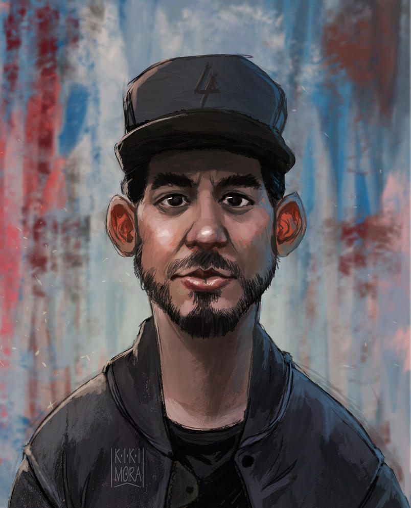 Mike Shinoda sketch by Malabra