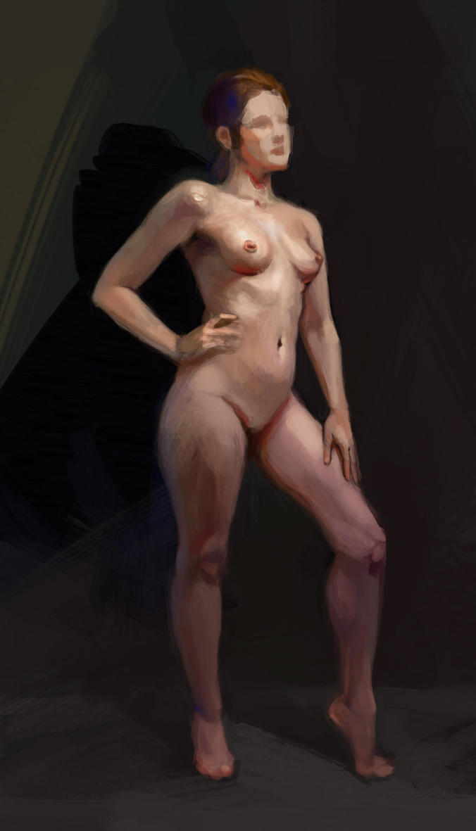 Body study (01) by Malabra