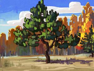 Autumn sketch-3