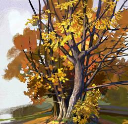 Autumn sketch-4