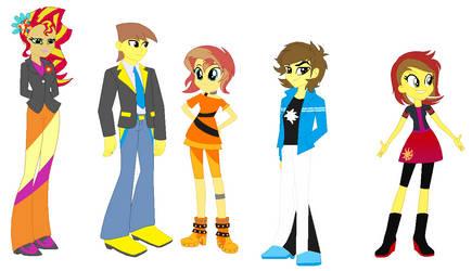 The LightningSet Human Family