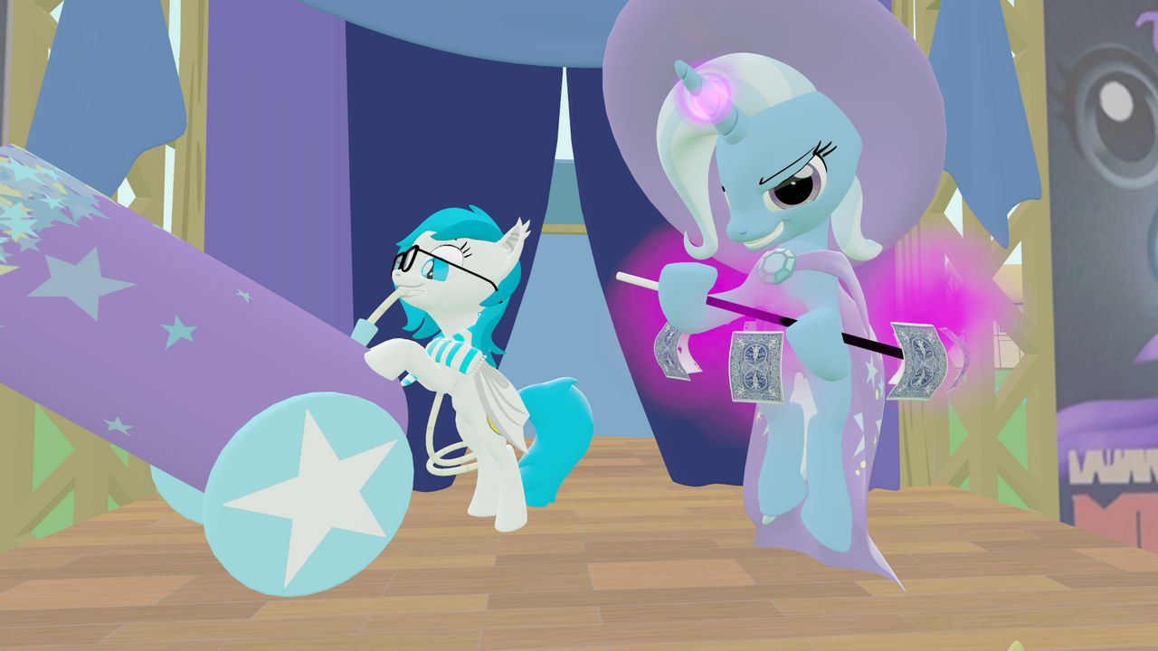 Trixie and Nyxie