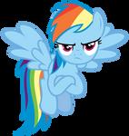 Rainbow Dash Vector [1]