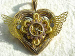 sailor moon steampunk locket