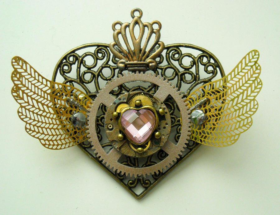 sailormoon steampunk locket 7 by TimelessCharm