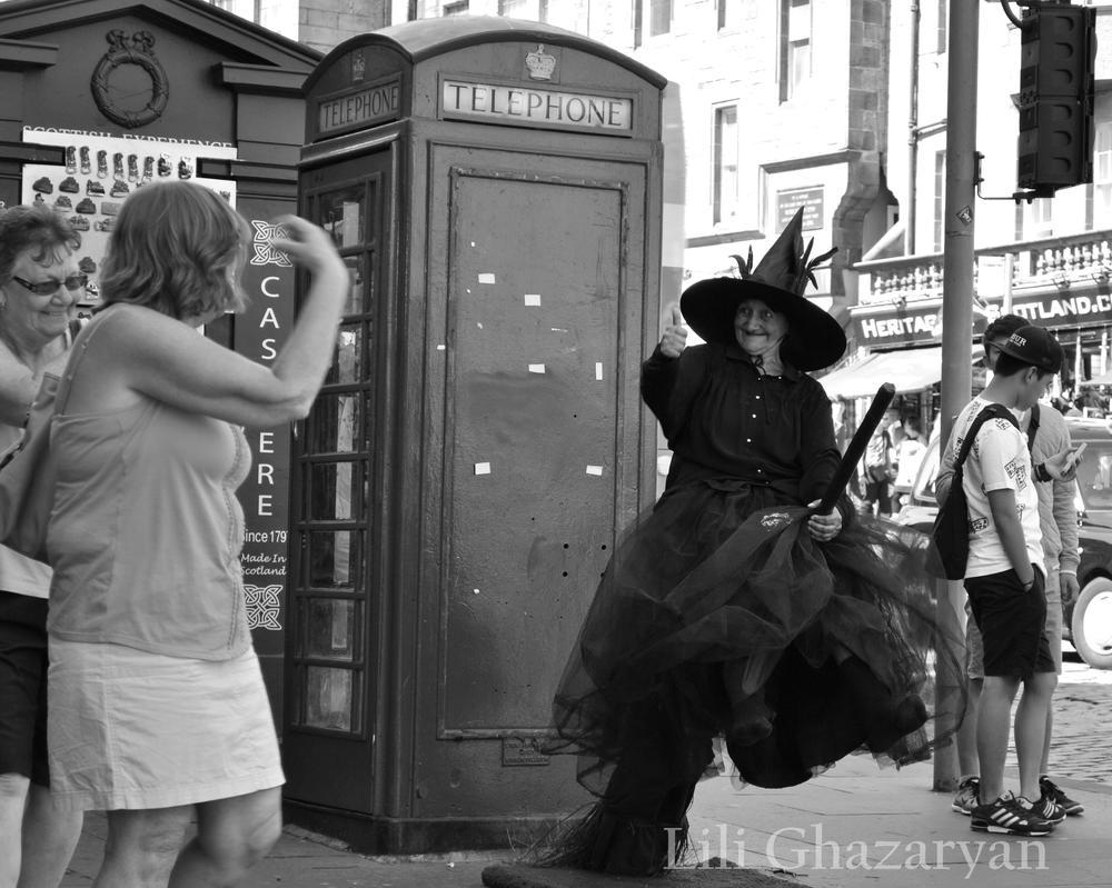 Halloween-smitten All Year Round. Edinburgh by elrray