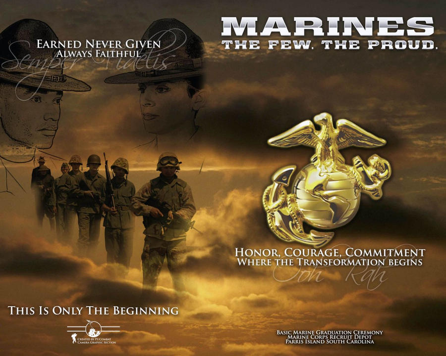 The Few , The Proud . USMC by godlived on DeviantArt