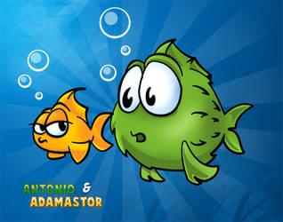 Antonio e Adamastor by CoyChacal