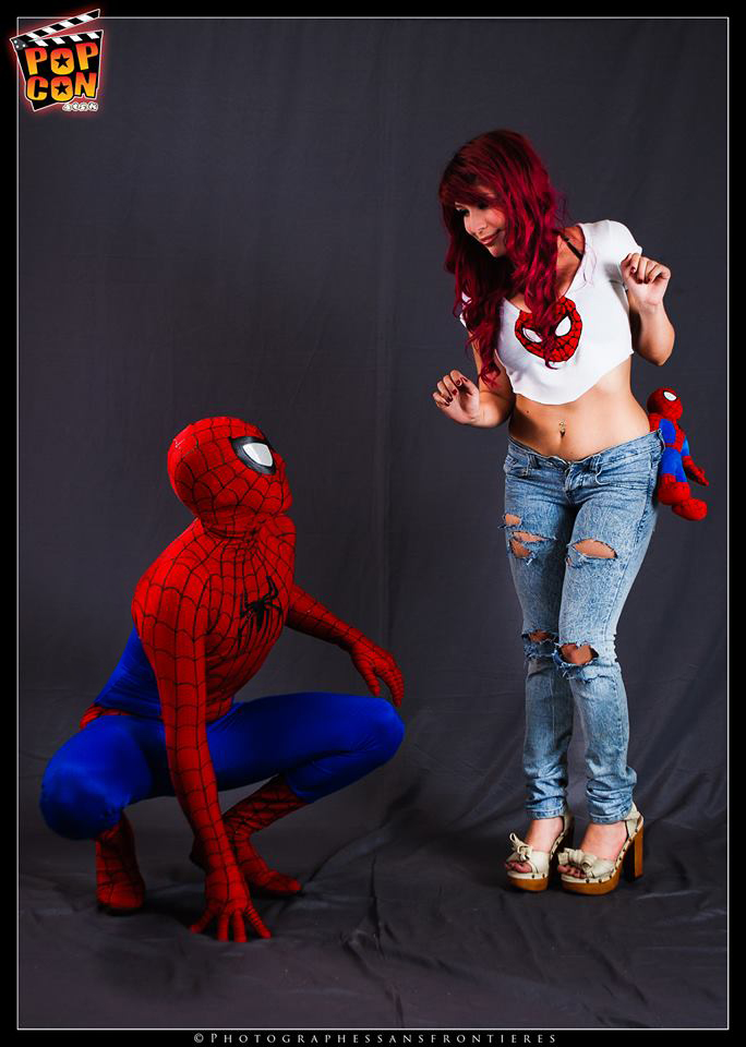 Spiderman and Mary Jane cosplay by IeboVox on DeviantArt