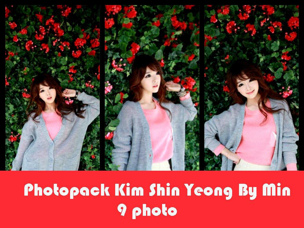 Photopack Kim Shin Yeong By Min by minminlovehunhan