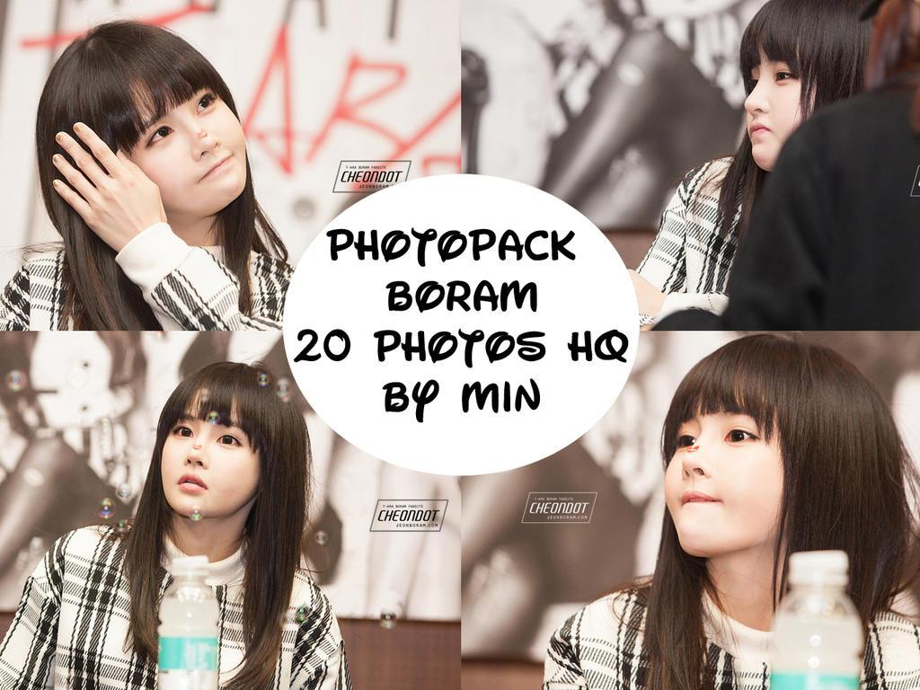 Photopack Boram By Min by minminlovehunhan