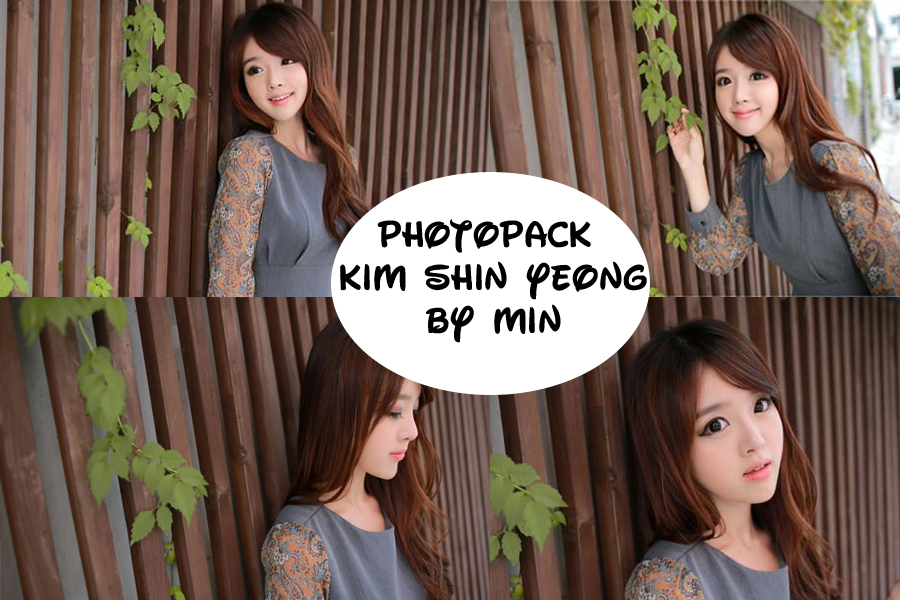 Photopack Kim Shin Yeong 3 By Min by minminlovehunhan
