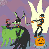 Halloween Loonatics by Kitsune2001