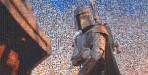Boba Fett mosaic