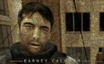 Barney mosaic