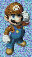 Super Mario mosaic