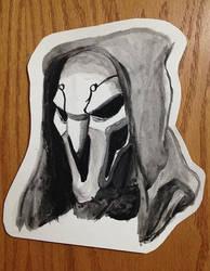 Reaper watercolor by Gillighan
