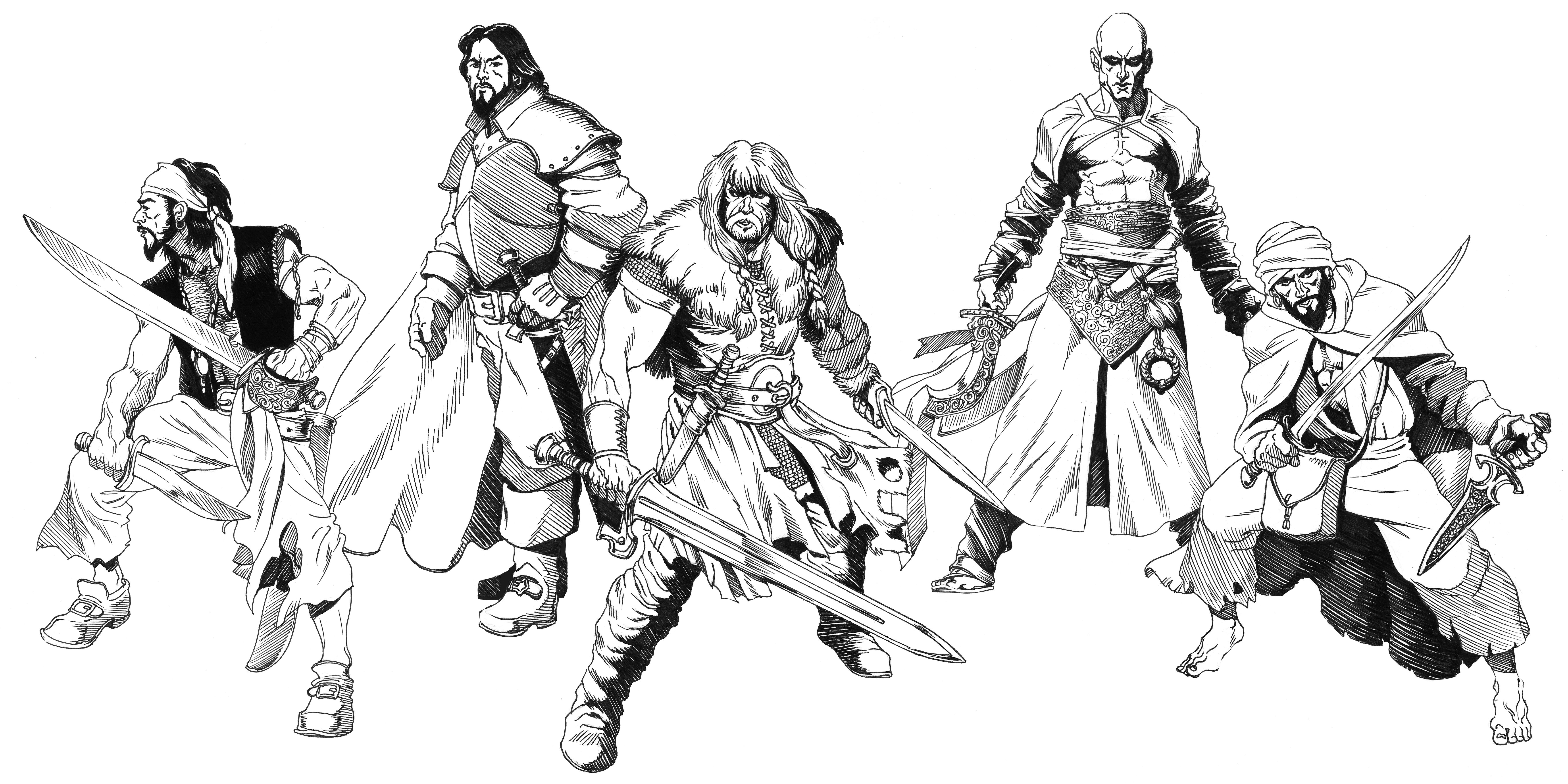 Hyborian Raiders by SOLIDToM