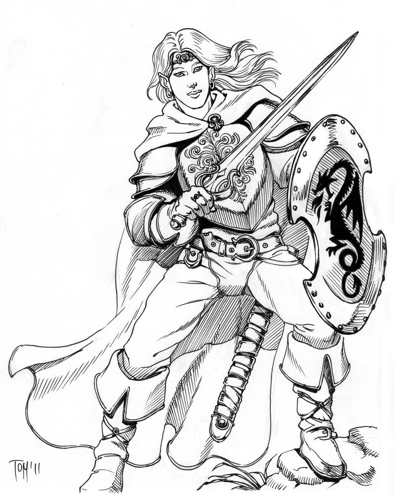 Image Result For Huntress Coloring Page