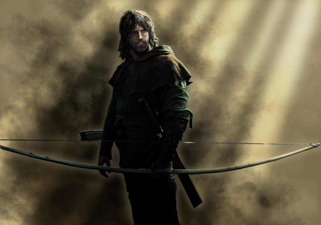 Fantasy archer man