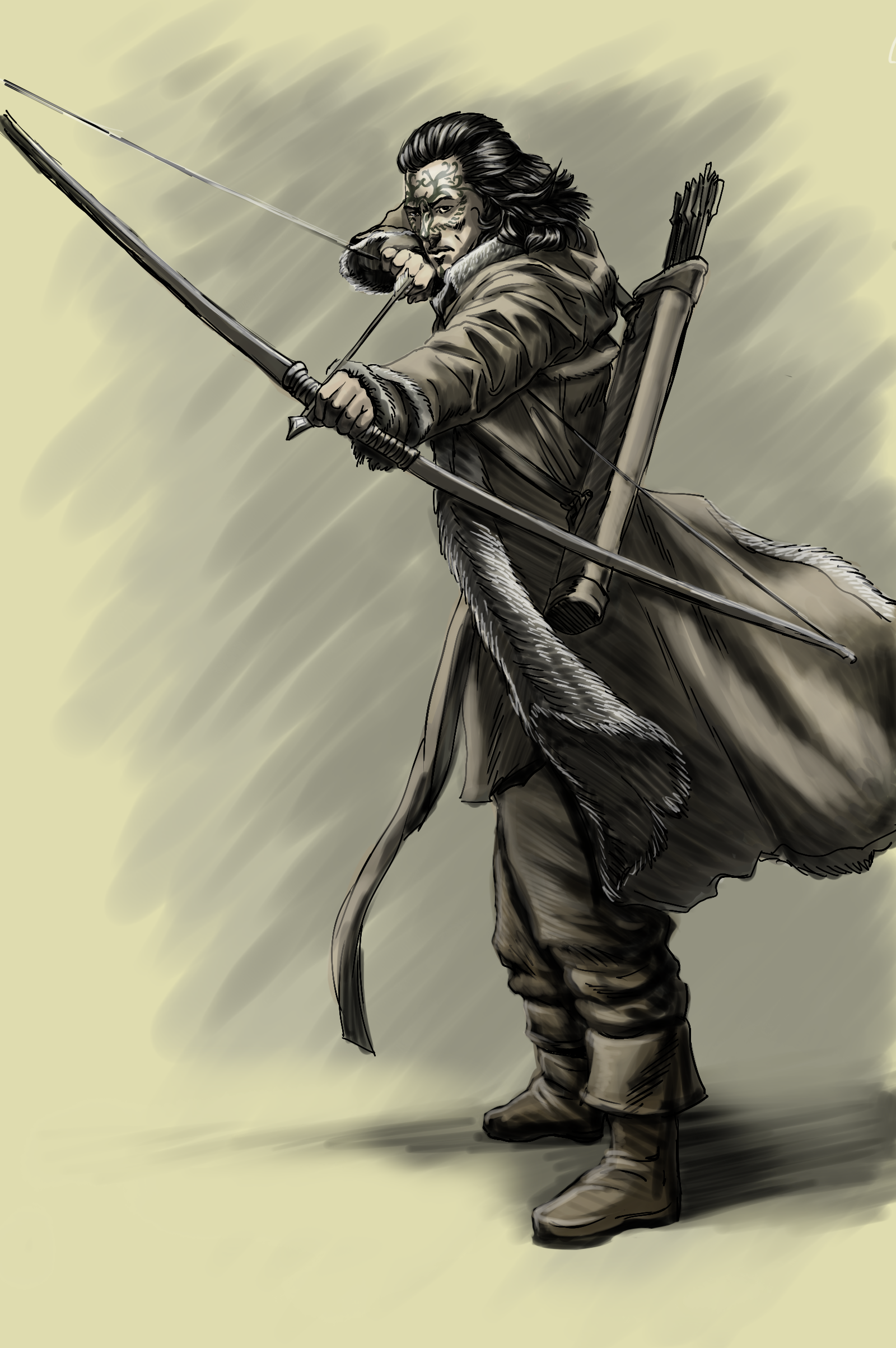 Elven archer by SOLIDToM on DeviantArt