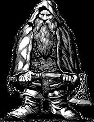 A dwarf wanderer