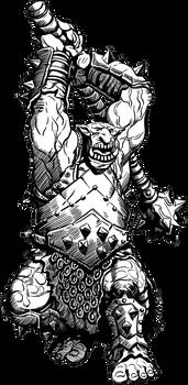 Dark Troll Mauler