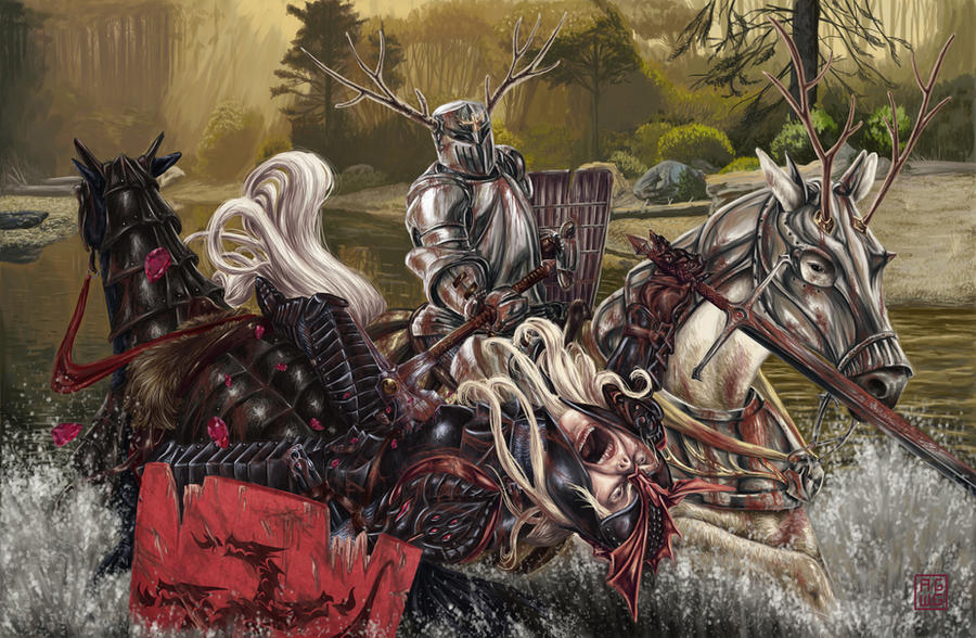 The fall of Rhaegar by ArthurGWG