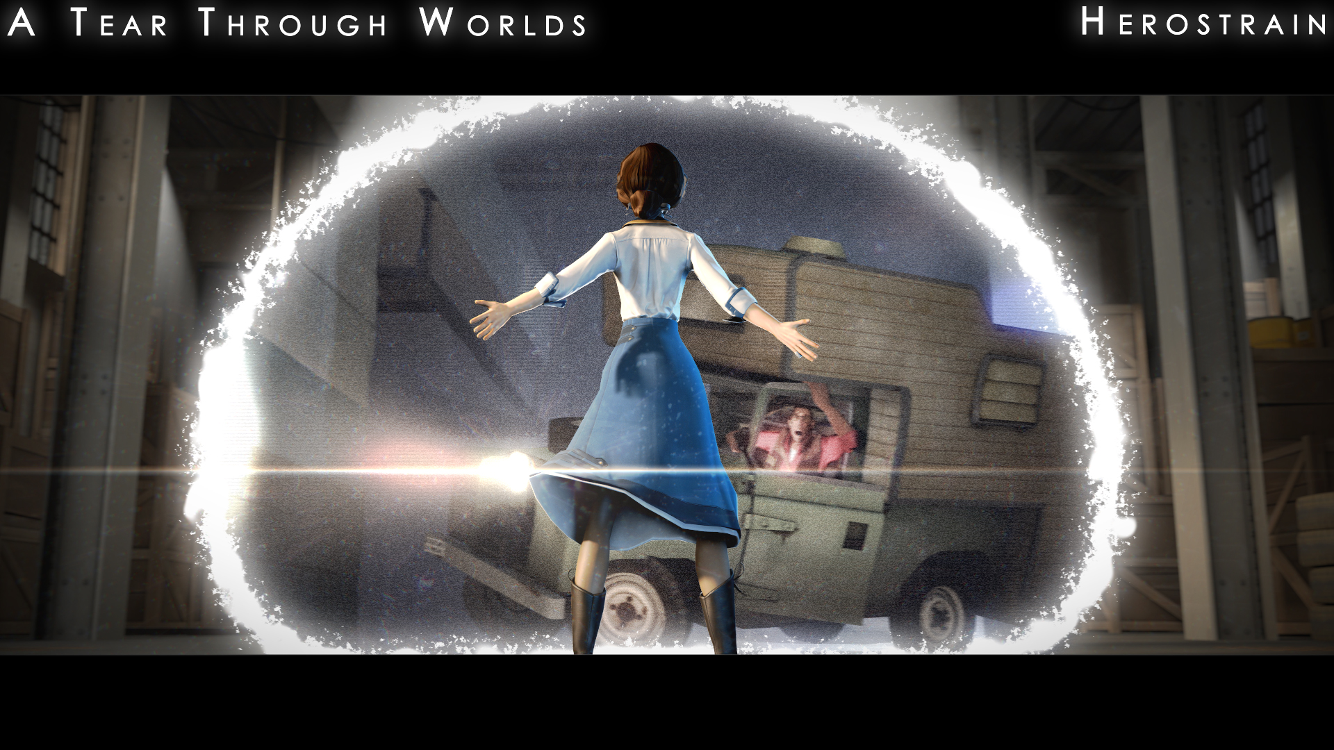 A Tear Through Worlds by Herostrain