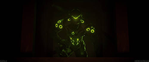 Genji (recreation) by Herostrain