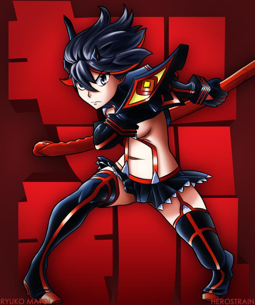 Ryuko Matoi by Herostrain